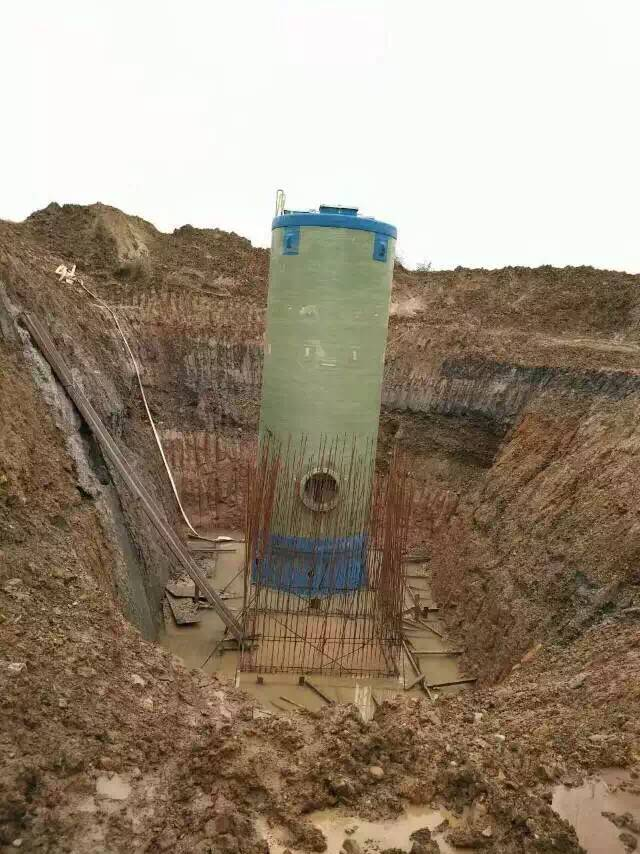 玻璃钢一体化钢泵站
