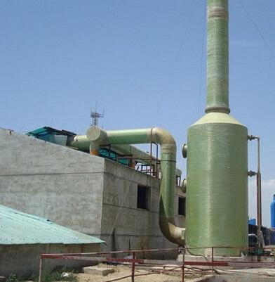锅炉玻璃钢脱硫塔