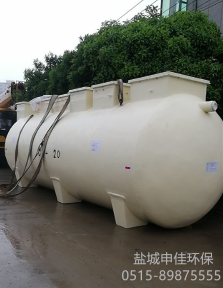 玻璃钢一体化污水净化槽